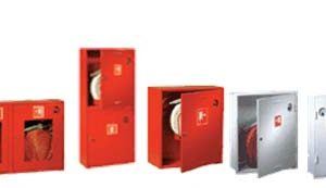 Fire-fighting equipment cabinets